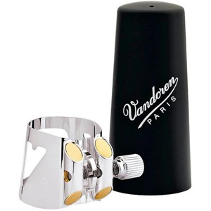 Saksofon Ligatür&kapak Vandoren Optimum plastik kapaklı Tenor