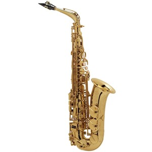 Saksofon Selmer-Paris Super Action 80 II Sarı & gravürlü w/case&mpc Alto