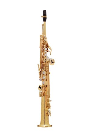 Saksofon Selmer-Paris Super Action 80 II Sarı & gravürlü w/case&mpc Soprano