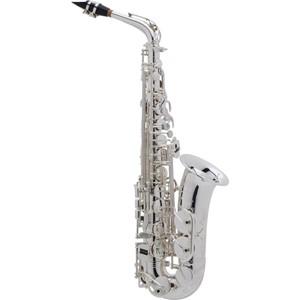 Saksofon Selmer-Paris Super Action 80 III Gümüş kaplama & gravürlü w/case&mpc Alto