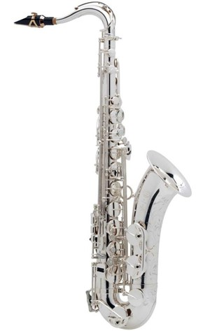 Saksofon Selmer-Paris Super Action 80 III Gümüş kaplama & gravürlü w/case&mpc Tenor