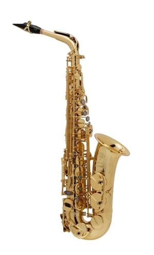 Saksofon Selmer-Paris Super Action 80 III Sarı & gravürlü w/case&mpc Alto