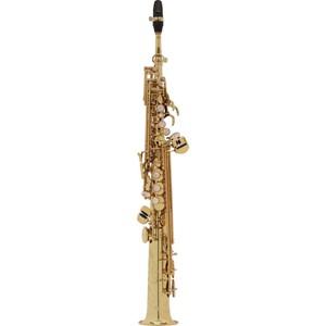 Saksofon Selmer-Paris Super Action 80 III Sarı & gravürlü w/case&mpc Soprano