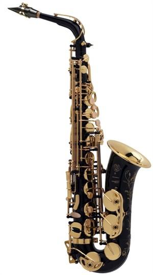 Saksofon Selmer-Paris Super Action 80 III Siyah & gravürlü w/case&mpc Alto