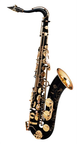 Saksofon Selmer-Paris Super Action 80 III Siyah & gravürlü w/case&mpc Tenor