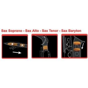 Saksofon Susturucu Saxmute Alto