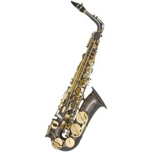 Saksofon Trevor James Classic siyah gövde-sarı perdeler Alto