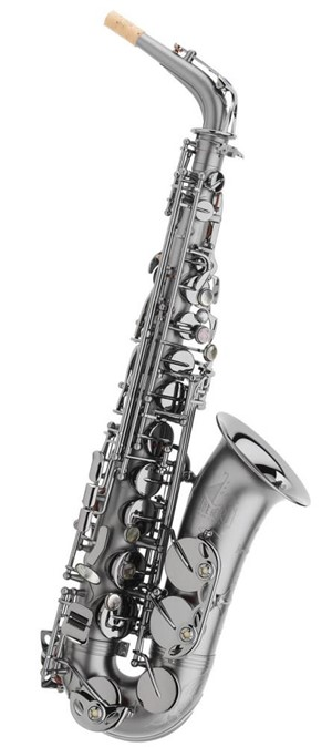 Saksofon Trevor James Classic siyah gövde-siyah perdeler Alto