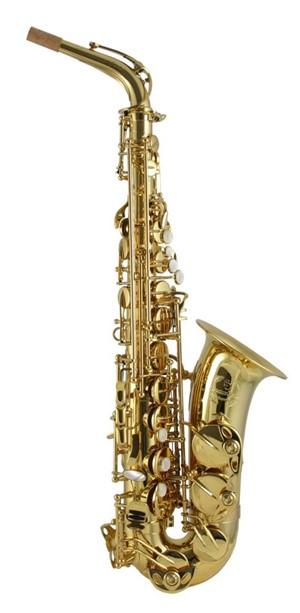 Saksofon Trevor James Signature Custom gold lacquered Alto