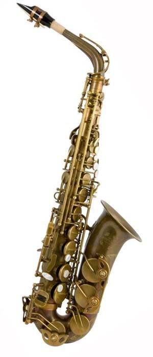 Saksofon Trevor James Signature Custom raw-unplated big bell Alto