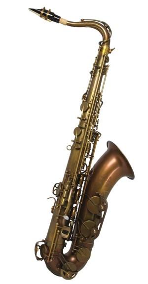 Saksofon Trevor James Signature Custom raw-unplated big bell Tenor