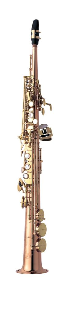Saksofon Yanagisawa S-902 low Bb High F# lacquered bronze Soprano