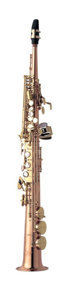 Saksofon Yanagisawa S-902 low Bb High F# lacquered bronze Soprano