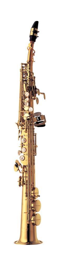 Saksofon Yanagisawa S-991 low Bb High G, straight & curved necks Soprano
