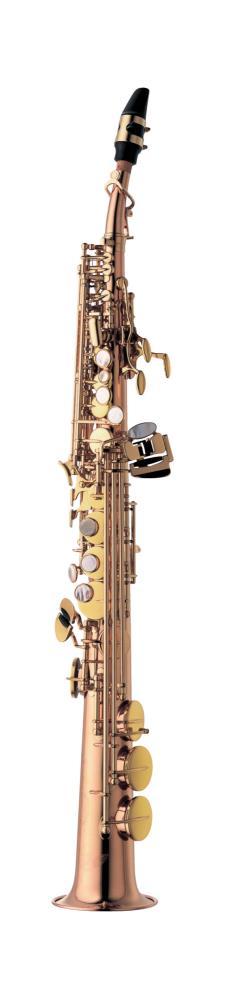 Saksofon Yanagisawa S-992 low Bb High G, straight & curved necks, bronze Soprano