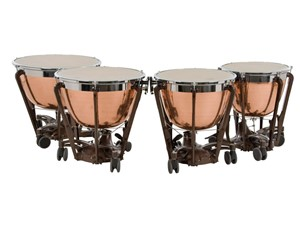 Timpani Adams Professional Copper Cambered Hammered 4'lü set