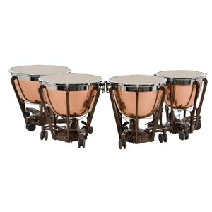 Timpani Adams Professional Copper Cambered Hammered 4'lü set
