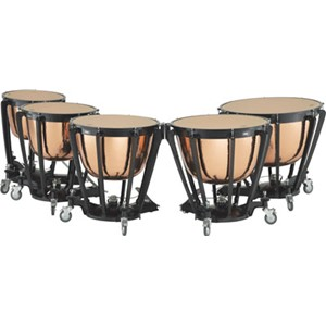 Timpani Adams Professional Copper Cambered Hammered 5'li set