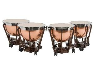 Timpani Adams Professional Copper Hammered 4'lü set