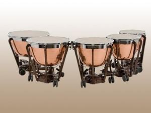 Timpani Adams Professional Copper Hammered 5'li set