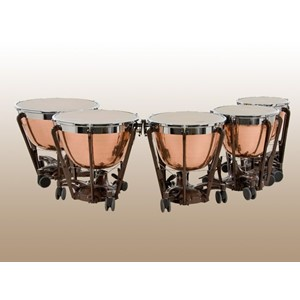 Timpani Adams Professional Copper Hammered 5'li set