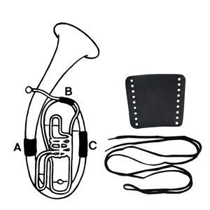 Trompet El derisi Gewa İpli Siyah