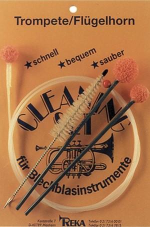 Trompet Temizleme fırça seti Reka