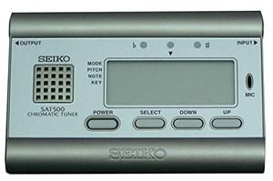 Tuner Seiko SAT500G Metalik sarı