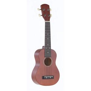 Ukulele Gewapure Almeria Soprano set kılıf, yedek tel, akort düdüğü ve 2 adet pena dahil set