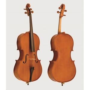 Viyolonsel Johanse Model 134 Set I Bernstein 1/2 masif ağaç, abanoz tuş, şimşir kulaklar, orijinal f