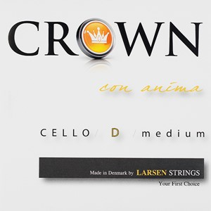 Viyolonsel Tel Crown D medium