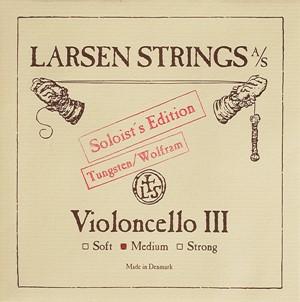 Viyolonsel Tel Larsen Tungsten Solo G medium