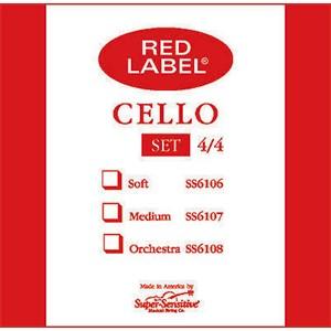 Viyolonsel Tel Super Sensitive Red Label C