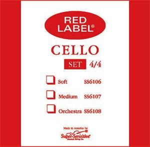 Viyolonsel Tel Super Sensitive Red Label D 1/2